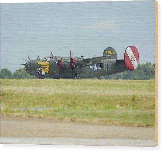 Consolidated B-24j Liberator Wood Print