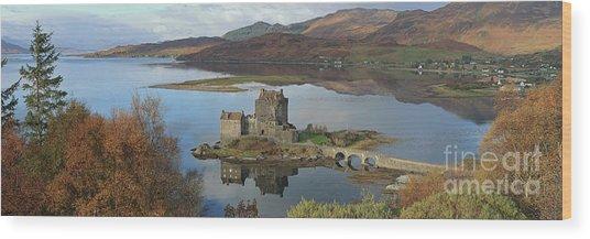 Eilean Donan Castle - Panorama Wood Print