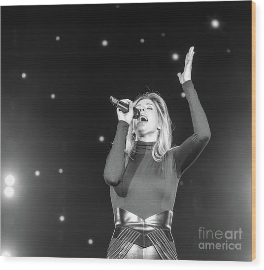 Ellie Goulding Wood Print