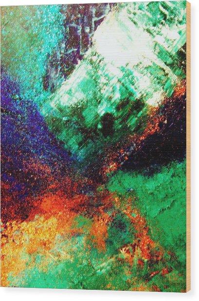 Gaia Symphony Wood Print