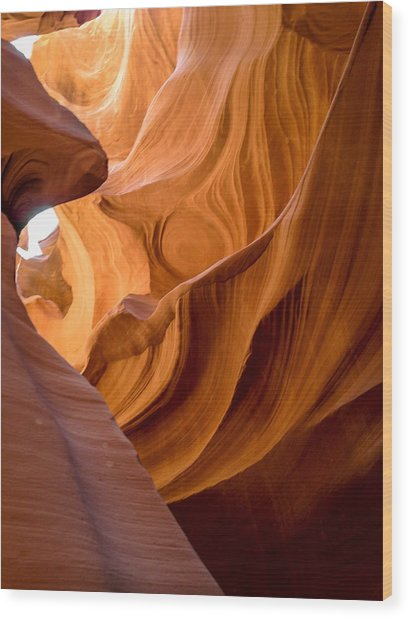 Lower Antelope Canyon Navajo Tribal Park #4 Wood Print