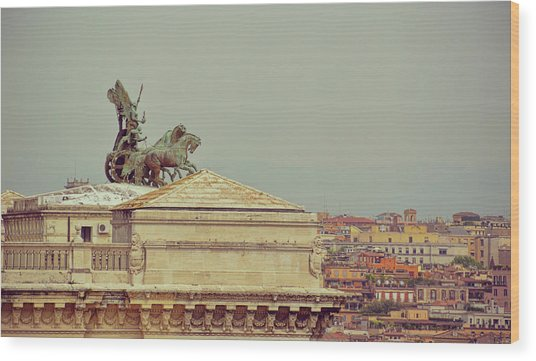 Viewing The Palace Of Justice Wood Print by JAMART Photography