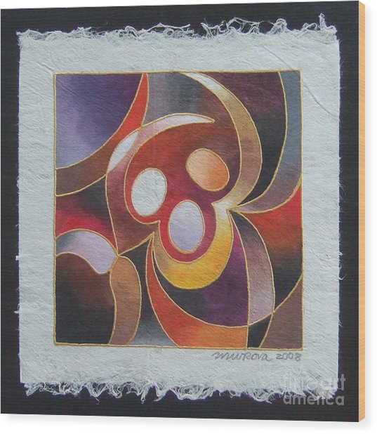 Reki II - Dance For Joy Wood Print
