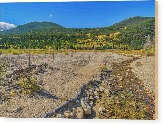 Rocky Mountain National Park Colorado Wood Print