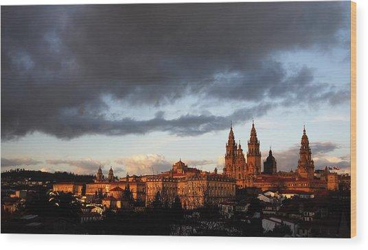 Santiago De Compostela Wood Print