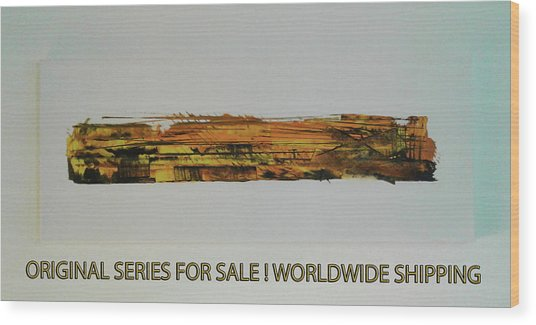 Series Abstract Worlds Only Originals For Sale Worldwide Shipping Wood Print