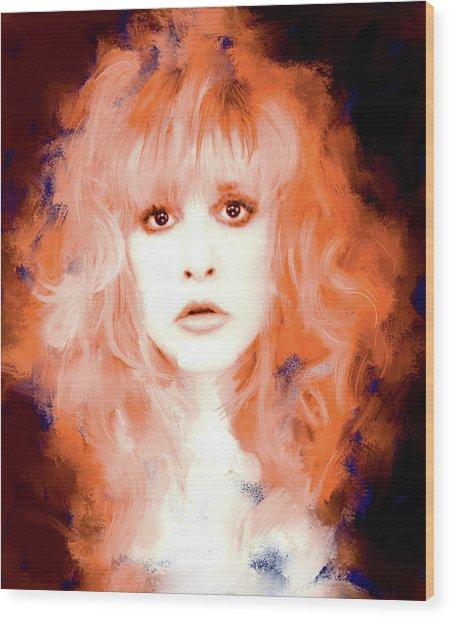 Stevie Nicks Painting By Brian Tones