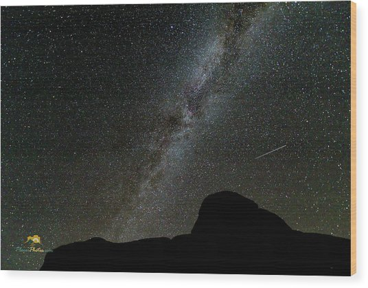 Wood Print featuring the photograph The Milky Way by Jim Thompson