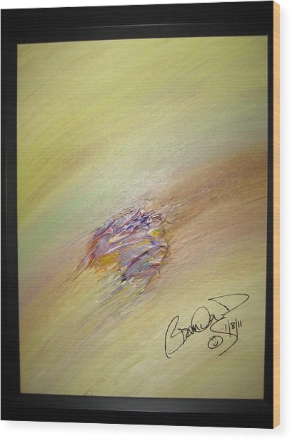 Original Abstract Masterpiece Wood Print