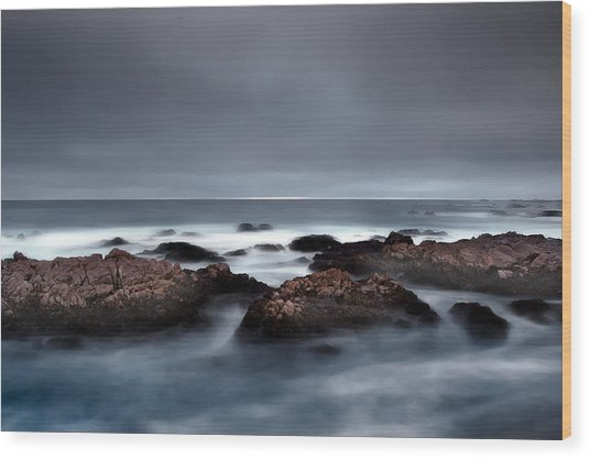 30 Seconds Of Moonlight Wood Print