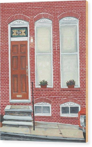 305 Hamburg Wood Print by John Schuller