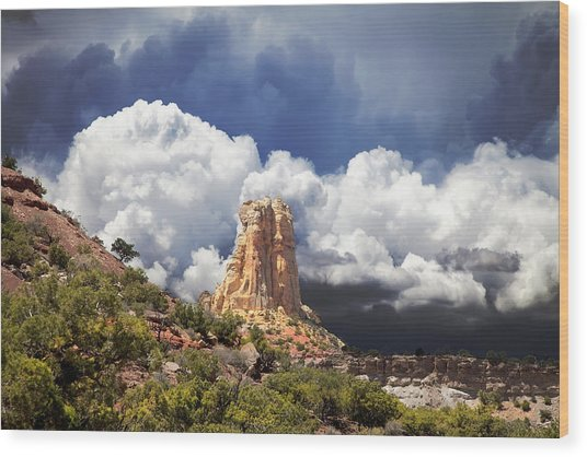 San Rafael Swell  Wood Print