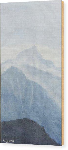 36.5616n 118.2251w Wood Print