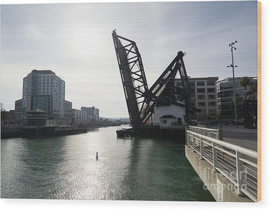 3rd Street Bridge Lefty O'doul Bridge San Francisco Dsc5778 Wood Print