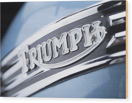 1949 Triumph Trophy Wood Print