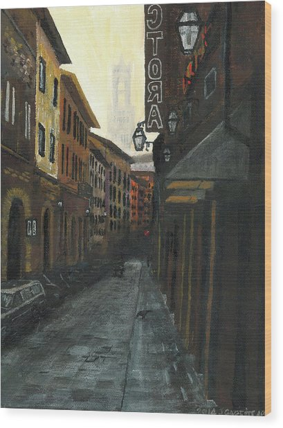 4 Borgio Dei Greci Wood Print