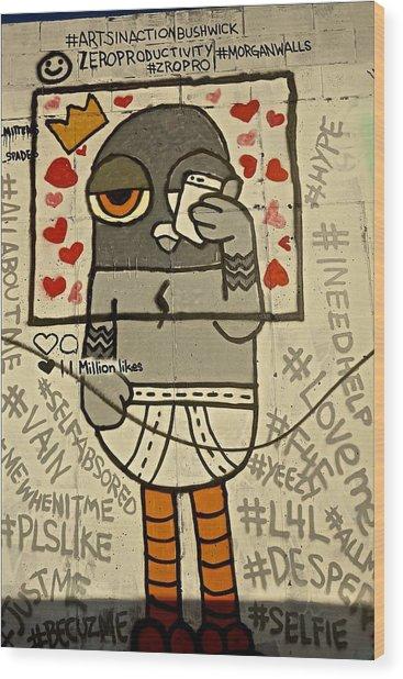 Bushwick Brooklyn Graffitti Wood Print