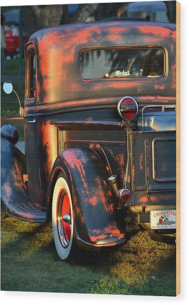 Classic Ford Pickup Wood Print