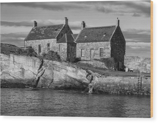 Cove Harbour Wood Print