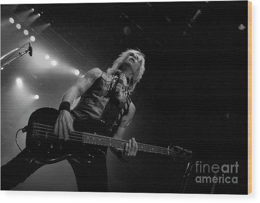 Duff Mckagan Wood Print