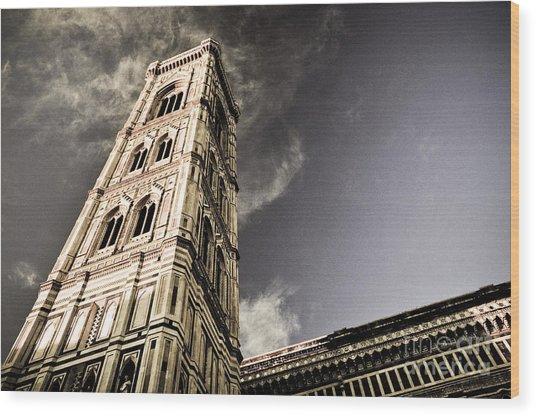 Giotto Wood Print by Emilio Lovisa