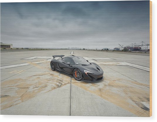 Wood Print featuring the photograph #mclaren #mso #p1 by ItzKirb Photography