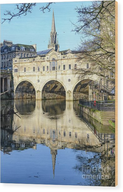 Pulteney Bridge, Bath Wood Print