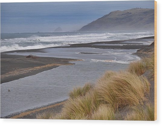 The Lost Coast Wood Print