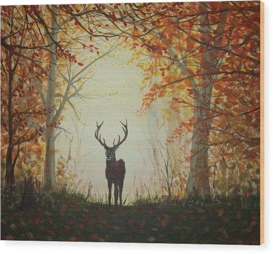Untitled Wood Print by Lori Ulatowski
