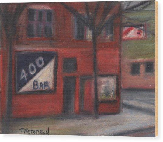 400 Bar Minneapolis Wood Print
