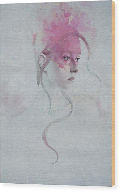 406 Wood Print by Diego Fernandez