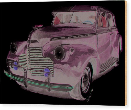 41 Chevy Wood Print by Ferrel Cordle