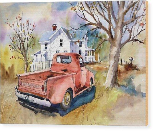 ''47'' Chevy Blues Wood Print