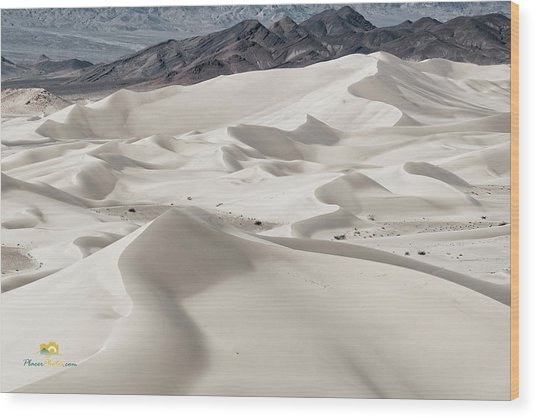 Wood Print featuring the photograph Dumont Dunes 5 by Jim Thompson