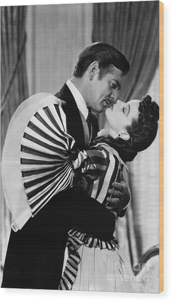 Gone With The Wind, 1939 Wood Print