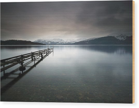 Loch Lomond Wood Print