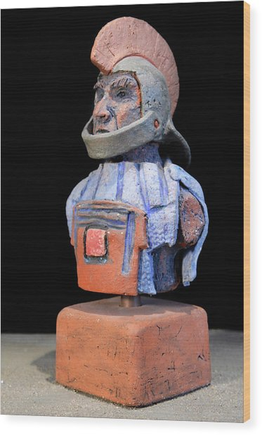 Roman Legionaire - Warrior - Ancient Rome - Roemer - Romeinen - Antichi Romani - Romains - Romarere  Wood Print