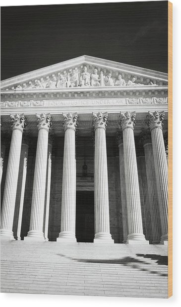Supreme Court Of The United States Of America Wood Print