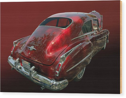 50 Olds Fastback Wood Print