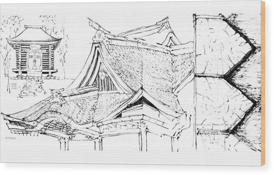 5.17.japan-4-detail-a Wood Print