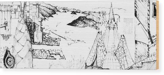 5.22.japan-5-detail-a Wood Print