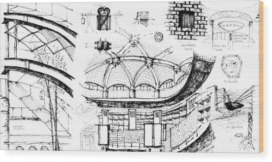 5.40.japan-9-detail-b Wood Print