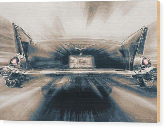 57' Speed Dream Wood Print