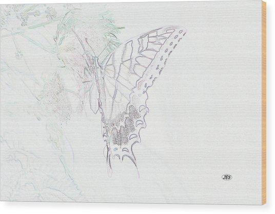 5816 3 Wood Print by Jim Simms