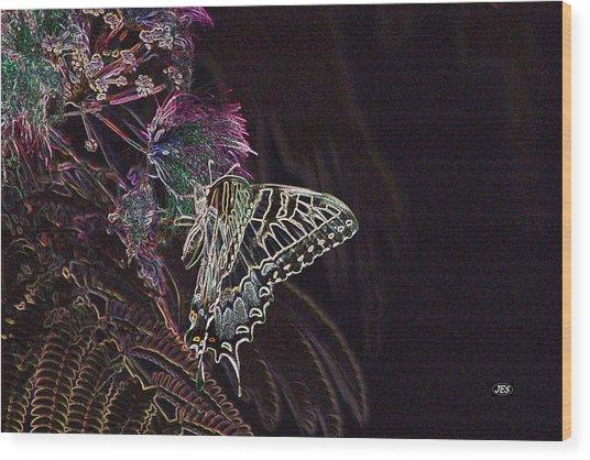 5818 3 Wood Print by Jim Simms
