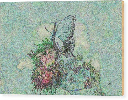 5846 4 Wood Print by Jim Simms