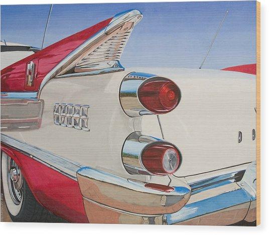 59 Dodge Royal Lancer Wood Print