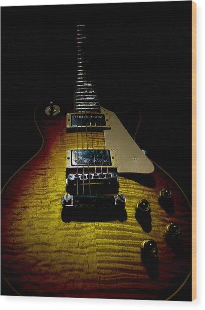 59 Reissue Guitar Spotlight Series Wood Print