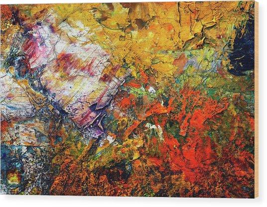Abstract Wood Print