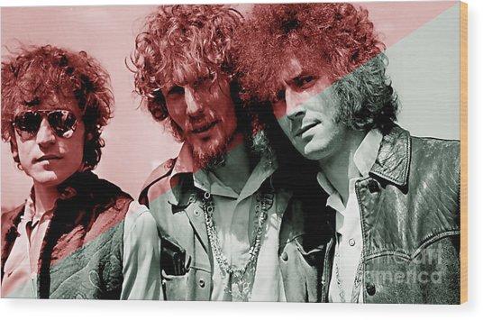 Cream Eric Clapton Jack Bruce Ginger Baker Wood Print